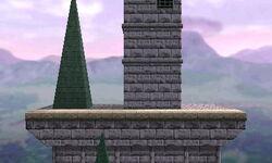 SSB3DS Hyrule Castle (64) Omega