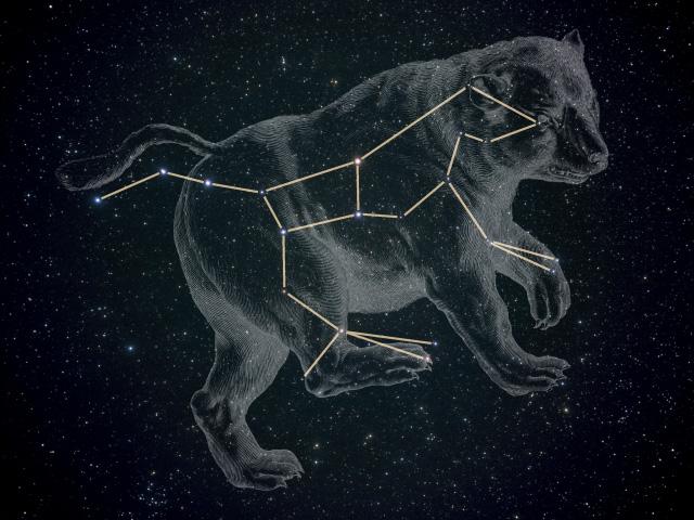 Resultado de imagem para Constelação da Ursa
