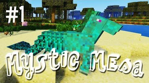 A WEIRD BEGINNING - MYSTIC MESA MODDED MINECRAFT (EP