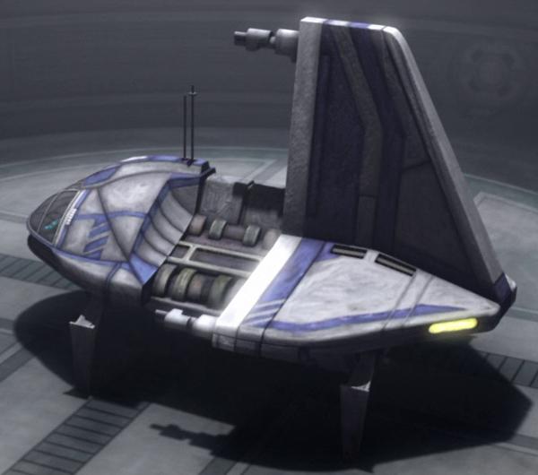 Sheathipede-class transport shuttleFan Feed