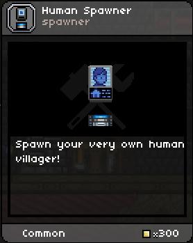 Human spawner