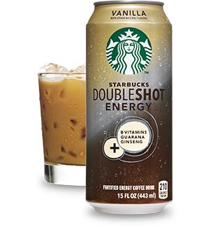 Starbucks Doubleshot 174 Energy Vanilla Drink Starbucks