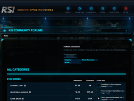 The RSI Forums