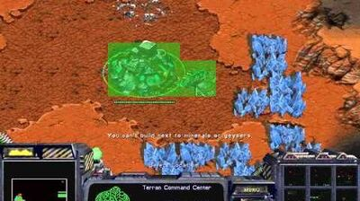 Starcraft Brood War - Terran Campaign Mission 5b- Emperor's Fall Birds of War Walkthough Lets Play