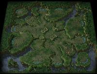 LostTemple SC2 Map1