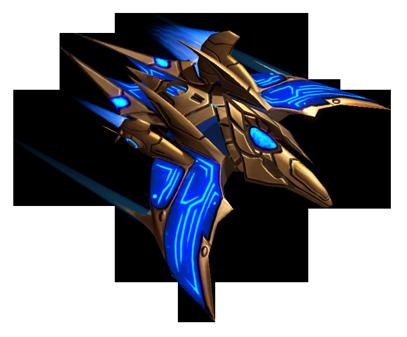 Protoss Phoenix by Blue-Lupus on DeviantArt