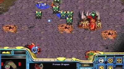 Starcraft Original Protoss - Campaign Mission 3 Higher Ground Cinematic Walkthough Lets Play