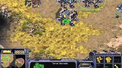 Starcraft Original Terran - Campaign Mission 2 Wasteland - Walkthough Lets Play