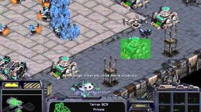 Starcraft Original Terran - Campaign Mission 9 New Gettysburg Walkthough Lets Play