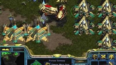 Starcraft Original Protoss - Campaign Mission 7 Homeland Walkthough Lets Play