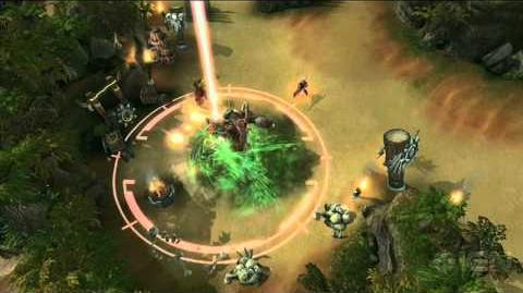 Blizzard DOTA Giant Stone Zealot Gameplay