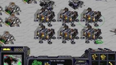 Starcraft Brood War - Terran Campaign Mission 1 - First Strike Walkthough Lets Play