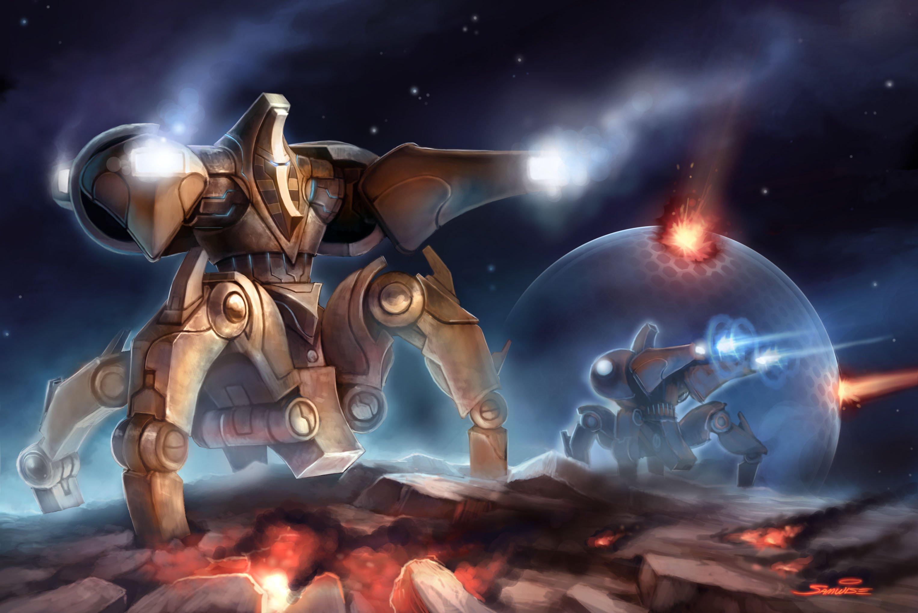 Immortal starcraft wiki fandom powered by wikia - Starcraft 2 wallpaper art ...