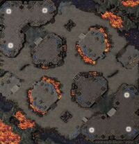 CinderFortress SC2 Map1