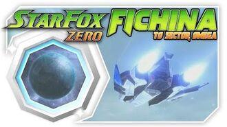 Star Fox Zero - Fichina To Sector Omega! Wii U Gameplay Walkthough With GamePad 1