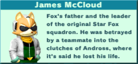 James And Fox Mccloud James McCloud on Modul...