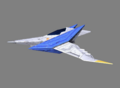 SFZ Arwing Side Left