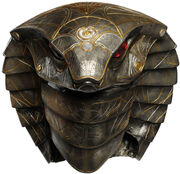 Serpent Guard head