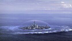 Atlantis lands