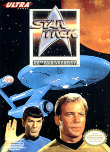 Star Trek 25th Anniversary NES