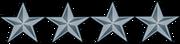 US o-10 rank pin