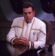 Starfleet admiral dress uniform, 2375