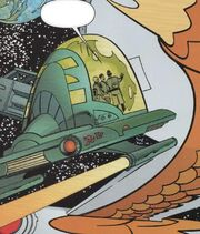 Romulan travel pod variant