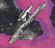 USS Endeavor adrift