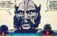 Klingon officer