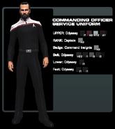 SF CO service uniform