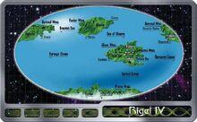Rigel IV Map