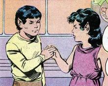 Young Xon Saavik DC Comics