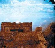 Centauri surface ruins