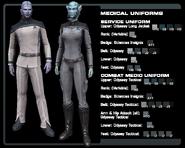 SF medical uniform