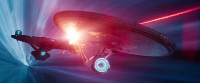 File:USS Vengeance fires on the USS Enterprise.jpg