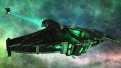 Ar'Kif focused singularity beam