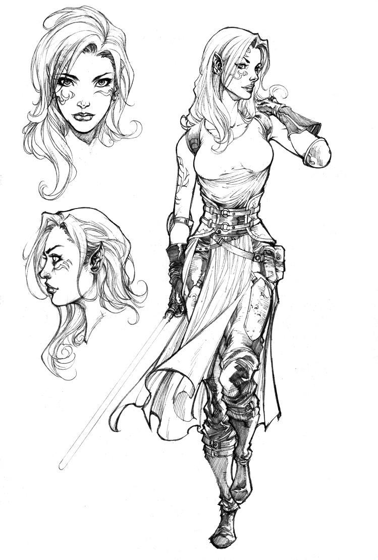 Color In Character Design : Tone krellisk star wars exodus visual encyclopedia