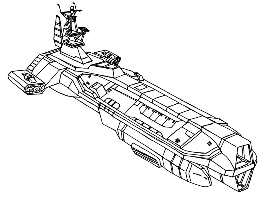 Deltronclass Cruiser Star Wars