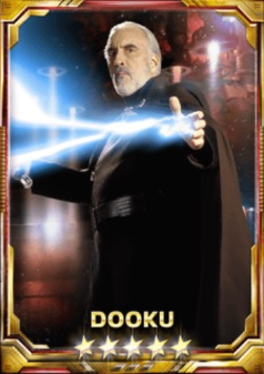 Dooku Sith Lord 5S