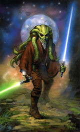 Kit Fisto artwork Nielsen