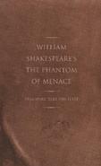 Shakespeares Phantom of Menace Cover Without Dust Jacket