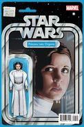 Star Wars Princess Leia Vol 1 1 Action Figure Variant