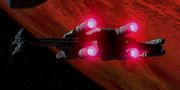 Xwing sublight engines