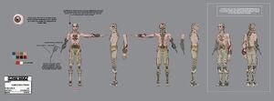 Clone Echo cyborg
