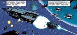 Dark Jedi Starship