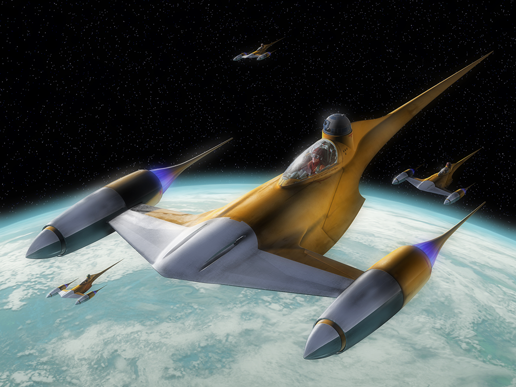 1000  images about Naboo N-1 Starfighter on Pinterest | Technology ...