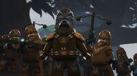 Wookiee warriors Peril on Kashyyyk