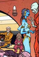 Blue woman - Hegg
