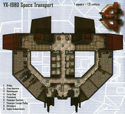 YX-1980 space transport