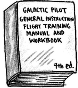 Galactic Pilot General Instruction Flight Training Manual and Workbook